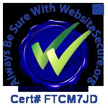 WebSiteSecure.org certificate FTCM7JD