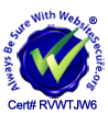 WebSiteSecure.org certificate RVWTJW6
